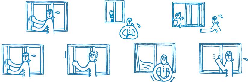 窓の機能アップ・調整 - ちょっとしたお悩みや問題もかんたん施工でスピード解決